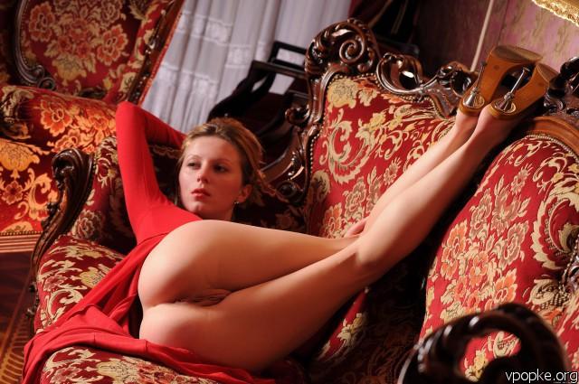 секс фото в платьях